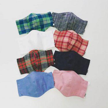 【縫夢ing】marumaru ガーゼマスク 夏バージョン新作販売始めました