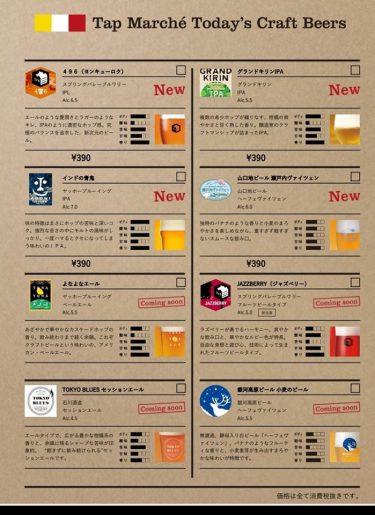 【菜's(サイズ)】5/26よりクラフトビールサーバーの稼働がスタート!