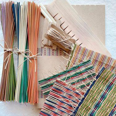 【岡山ゲストハウスいぐさ】「い草手織りコースター作りキット」販売開始