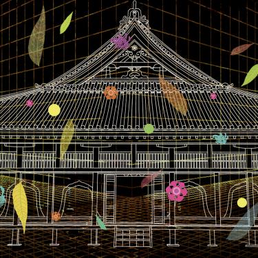 【インタラクティブ映像倶楽部 主催】『「旧閑谷学校」プロジェクションマッピングアートプロジェクト』10月10日(土)開催!