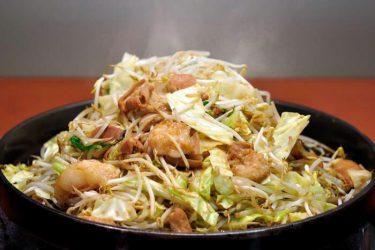【当新田食堂】創業昭和38年の、野菜とお肉をたっぷりと楽しめる鉄板焼肉店