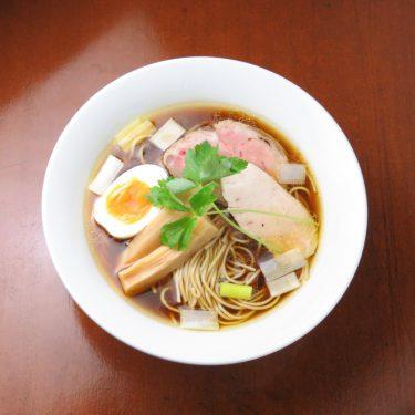 【麺酒 一照庵】店主こだわりの中華そばと、日本酒をゆっくりと味わう。テイクアウトメニューも販売中。