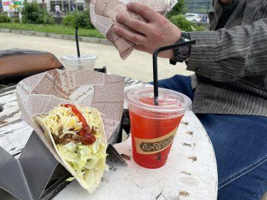 【TACOSSTAND&CAFE A-YO! 】一度食べたらやみつき間違いなし!メキシコ料理「タコス」の移動販売。土・日限定のスイーツメニューも販売スタート